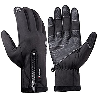 Winter Gloves Bnoia Waterproof Touchscreen Outdoor Cold Weather Warm Cycling Gloves for Men&Women