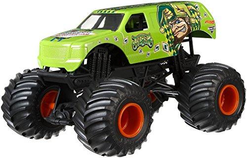 - Hot Wheels Monster Jam Jester Vehicle, Green