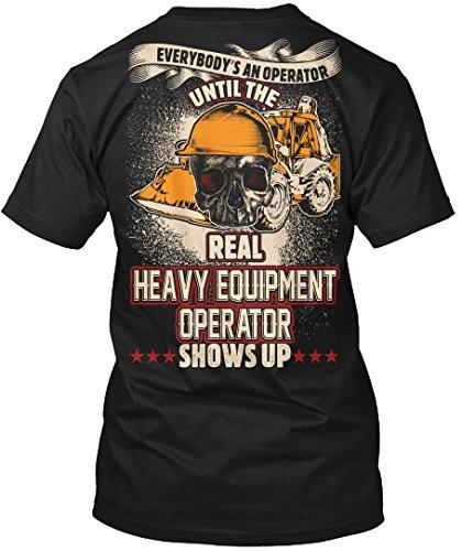 Heavy Equipment Operator Tshirt Everybody
