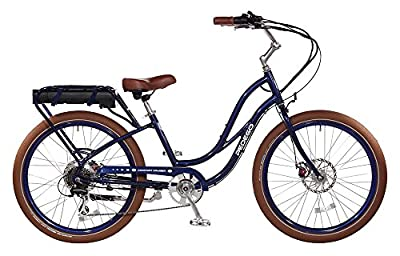 "Pedego Comfort Cruiser 24"" Coral with White Wall Tires 36V 15Ah"