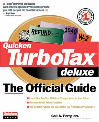 TurboTax Deluxe The Official Guide: For Tax Year 2000