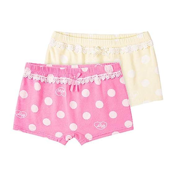 Gowe Boxer Coton Culotte Pour Filles Paquet De 2 Enfants