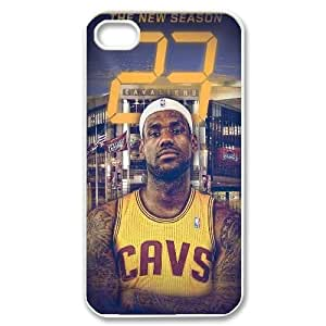 lebron james Custom Case for Iphone 4,4S, Personalized lebron james Case