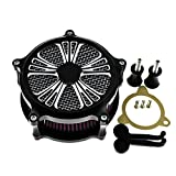 Motorcycle Air Cleaner Intake Filter System Air Filter Kits For Harley Touring Street Glide 08-16