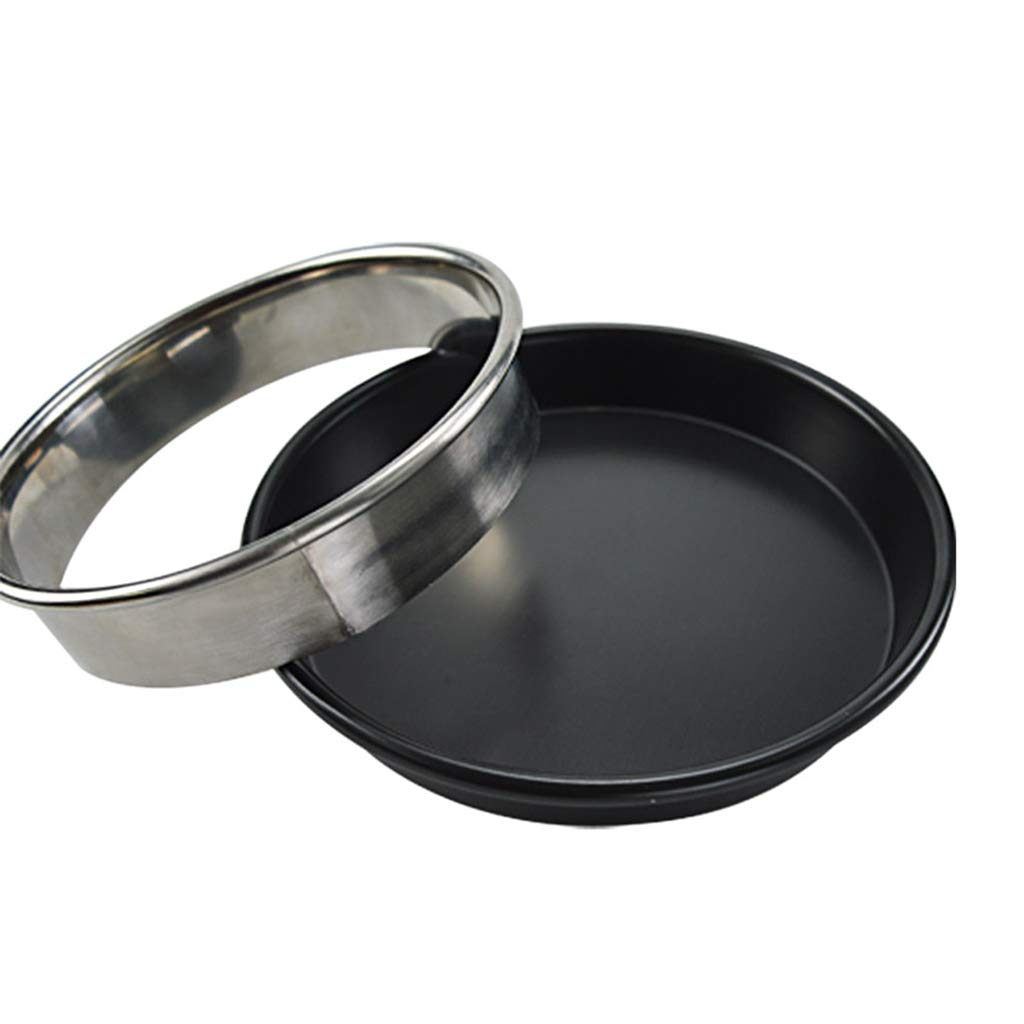 Prettyia Pizza Pan Rings Biscuit Cutter, Heavy Duty Stainless Steel Round Pastry Cutter Ring Mold for Pizza Pan, 8 Sizes to Choose - 12inch by Prettyia (Image #8)