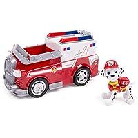 Ambulancia EMT de Paw Patrol Marshall, vehículo y figura