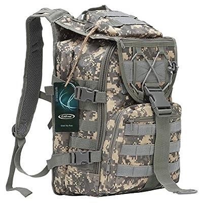 "G4Free Tactical Rucksack Assault Backpack Outdoor Traveling Bag Camping Hiking Trekking Bag 15"" Laptop Backpack"