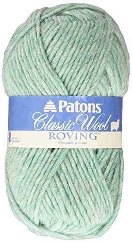 Wool Classic Spinrite - Spinrite Classic Wool Roving Yarn, Low Tide