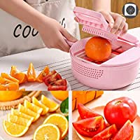 Dongtu Kitchen Vegetable Cutter Shred Diced Press Chopping Tool