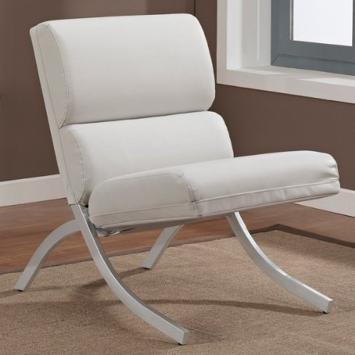 Contemporary/Modern Unique Faux,Bonded Leather Foam Chair ()