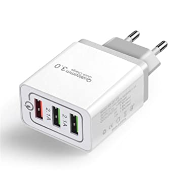 Cargador USB Colorful Quick Charge 3.0, Cargador USB de 30 W ...