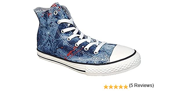 Converse – Zapatos Chuck Taylor All Star Hi Zapatillas Americana ...