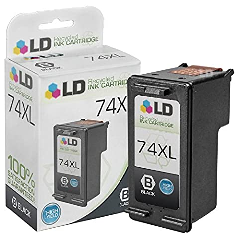 LD © Remanufactured Replacement Ink Cartridge for Hewlett Packard CB336WN (HP 74XL) High-Yield (74xl Hp Ink)