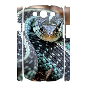 Snake Custom 3D Cover Case for Samsung Galaxy S3 I9300,diy phone case ygtg533796