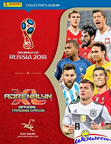 Russia Card (2018 Panini Adrenalyn XL FIFA World Cup Russia Collector's Album Binder with 30 Sheets that can hold over 500 Cards! PLUS HUGE 40 Page Checklist Magazine & Gameboard! Imported from Europe! WOWZZER!)