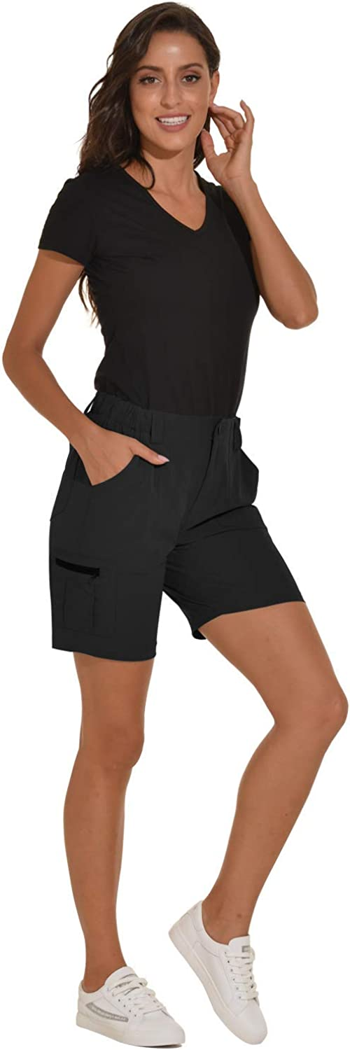 VAYAGER Womens Lightweight Cargo Short for Hiking,Camping and Travel