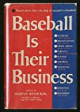 img - for Baseball is Their Business book / textbook / text book
