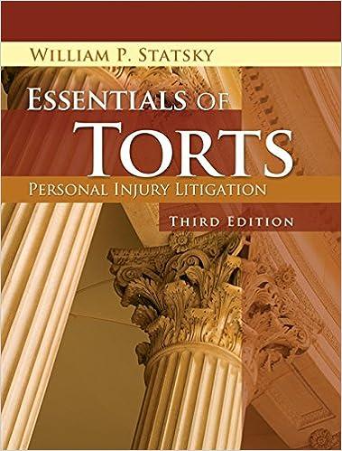 Essentials Of Torts