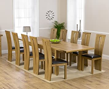 Marvelous Corona Oak Dining Furniture Extra Large Extending Dining Interior Design Ideas Ghosoteloinfo