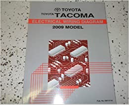 Electric Wiring Diagram Book : 2009 toyota tacoma electrical wiring diagram service shop repair
