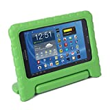 HDE Samsung Galaxy Tab 4 7.0 Case Kids Shock Proof Cover Stand for 7 inch Galaxy Tab 4 Tablets (Green)