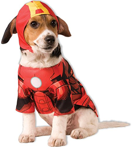 Picture of Rubie's Marvel Universe Iron Man Pet Costume, Small