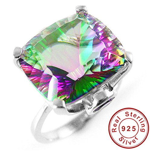 AYT-10ct-Square-Natural-Fire-Rainbow-Mystic-Topaz-Ring-Solid-925-Sterling-Silver-Jewelry-Brand-New-Hot-Gift-For-Women-High-Quality