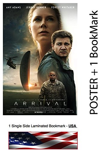 "ARRIVAL  - Movie Poster, Size: 24 x 36"" - Amy Adams, Jeremy"