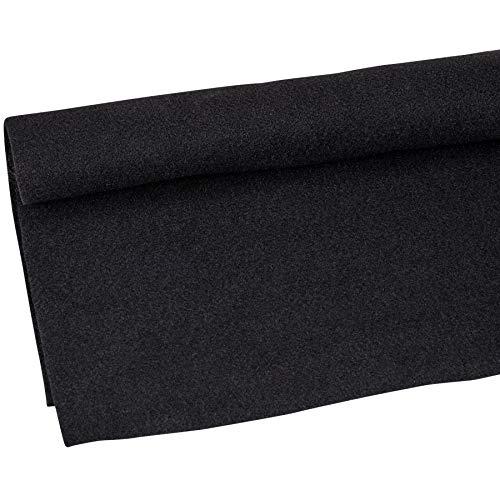 """Parts Express Speaker Cabinet Carpet Jet Black Yard 54"""" Wide"""