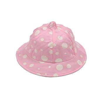 b33587427 Amazon.com: Soft Baby Sun Protection Hat Infant Floppy Cap Cotton ...