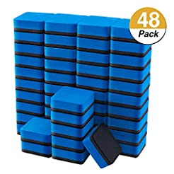Favourde 48 Pack Magnetic Whiteboard Dry...