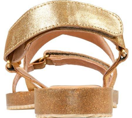 Adam Tucker Womens Arianna 16 Gold Distressed Metallic Suede meQ7pRg