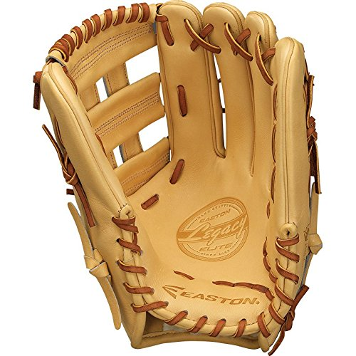 Easton Legacy ELITE1275NAT Rht Legacy Elite, Outfield Pattern Glove, 12.75
