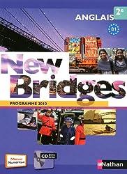 Anglais 2e New Bridges : Programme 2010 B1 (1CD audio)