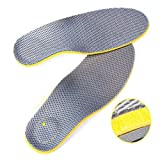 Comfort Orthotic Arch Support Insoles for Sport Shoes and Work Boots Relief for Foot Pain Due to Flat Feet and Plantar Fasciitis(women)