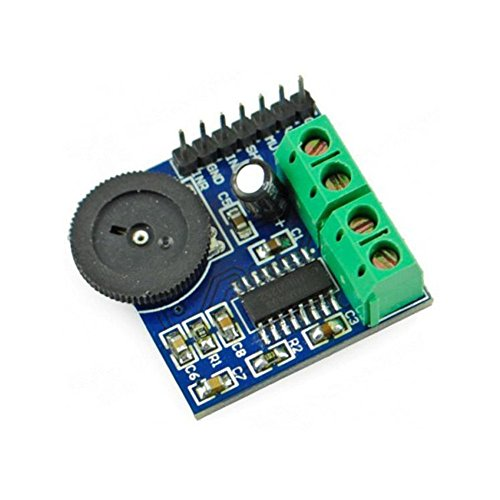 Amazon.com: Audio Amplifier PAM8403 Chip Module 3W with Potentiometer for Volume Adjustment and 2P Terminal for Left and Right Channels from Optimus ...