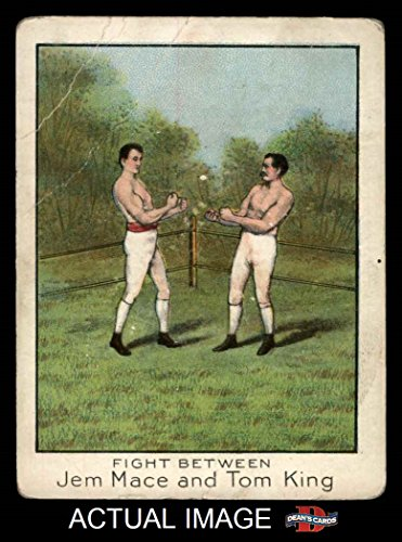 1910 T220 Champions White Border # 44 Jem Mace / Tom King...