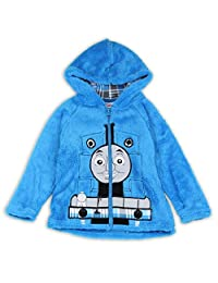 THOMAS Boys Toddler Velboa Zip Front Hoodie SweatShirt/Jacket