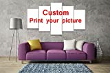 [LARGE] Customize Your Own Pictures on Premium Quality Canvas Printed Wall Art Poster, Wall Decor Custom Painting, Home Decor Pictures - With Wooden Frame