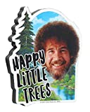 "NMR Bob Ross 3"" Funky Chunky Magnet: Happy Little"