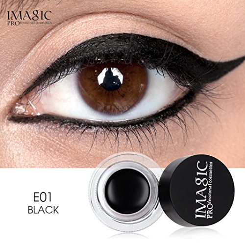 Price comparison product image Fheaven (TM) Eyeliner Cream - IMAGIC Long lasting Waterproof Glitter Eye Shadow Gel Metalic Eyeliner Makeup Cream (A)