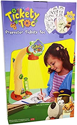 Tickety Toc - Proyector (Famosa 700012137): Amazon.es: Juguetes y ...