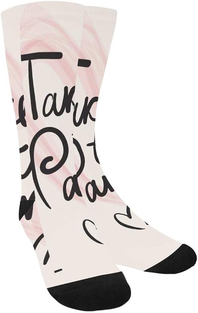 France Hand Drawn Romantic Eiffel Tower Crazy Dress trouser Sock For Men Women