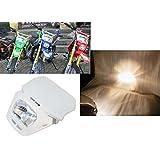 35W White Off Road Dirt Bike Enduro MX White Motorcycle Headlight for Honda CRF Yamaha Kawasaki Suzuki