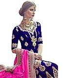 Indian Lehenga Choli Dupatta Wedding Ethnic Muslim Women Dress Anarkali