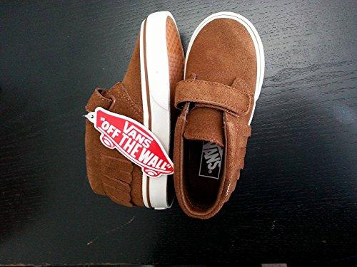 Vans Toddler Girls Chukka V Moc Skate Shoes (5 TODDLER M, MONKS (Vans Girls Skateboard Shoe)