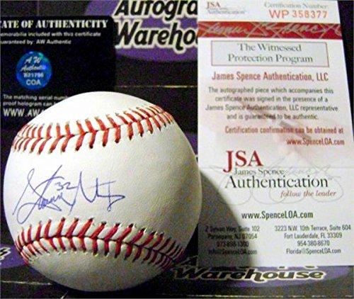 Autograph Warehouse 270767 Steven Matz Autographed Baseball - New York Mets JSA Authentication from Autograph Warehouse