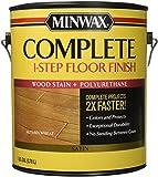 Minwax 672010000 1G Satin Autumn Wheat Complete 1-Step Floor Finish