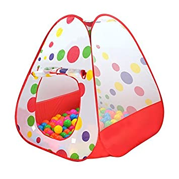 Sysrion Kids Play Tent-Pop up Play Tents Folding Playhouse Ball Tents Child Adventure Sets  sc 1 st  Amazon.com & Amazon.com: Sysrion Kids Play Tent-Pop up Play Tents Folding ...