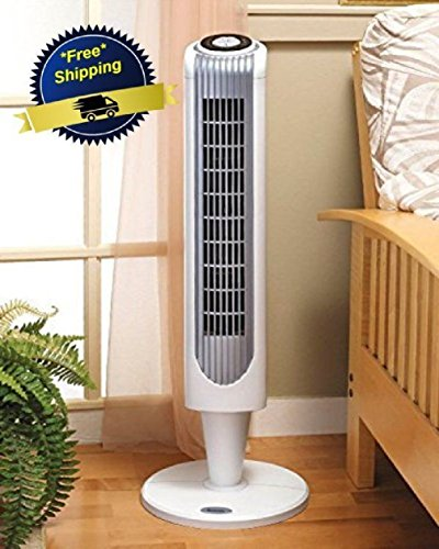 [NEW Portable Oscillating Tower Fan Air Conditioner Floor Remote Control 3 Speed] (Fan Costumes)